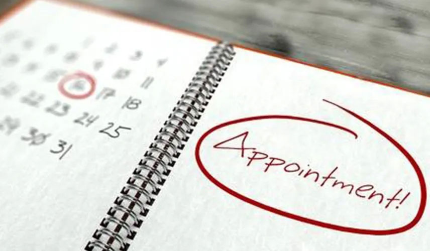 Appointment calender